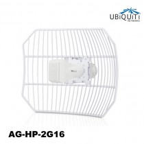 "Ubiquiti airGrid M2 HP 2.4GHz airMAX 11x14"" Grid Antenna Feed"