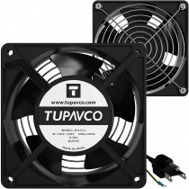 Tupavco Network Cabinet Fan 2x 120mm/4in TP1511
