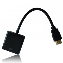 HONGDE HDMI to VGA Gold-Plated Converter/Adapter