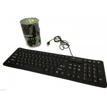 ROCKSOUL Water/Dust Proof Flexible Keyboard