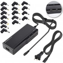 ANOAK 90w Universal AC Laptop Charger with 3 USB Ports