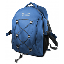 "Klip Xtreme 15.4"" ""Aventurier"" Laptop Backpack (Blue + Grey) KNB-405"