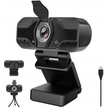 YOUPECK 1080P HD Webcam with Microphone & Tripod