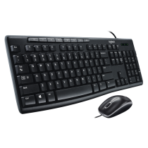 Logitech MK200 Wired Media Combo