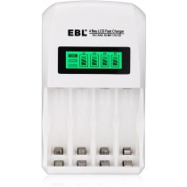 EBL LCD Smart AA/AAA Rechargeable Battery Charger