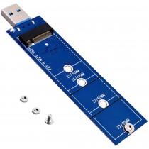 JESOT M.2 to USB Adapter / B Key M.2 SSD to USB 3.0 Reader Card