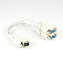 XTech 1x Male to 2x Female VGA Splitter XTC325
