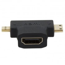 XTech Mini/Micro HDMI Male to HDMI Female Adapter XTC355