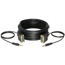 CDO Male-to-Male 30FT SVGA + Audio Monitor Cable