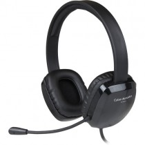 Cyber Acoustics AC-6012 Stereo USB Headset with Noise Canceling Mic & Volume Control