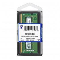 Kingston 4GB PC4-19200 2400MHz CL17 DDR4 Memory/RAM (KVR24S17S6/4)