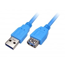 XTech USB 3.0 Extension A-Male to A-Female 6ft USB Cable XTC353