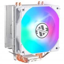ABKONCORE LED RGB White 120mm PWM CPU Cooler