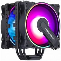 ABKONCORE LED RGB with SYNC Black 120mm PWM CPU Cooler
