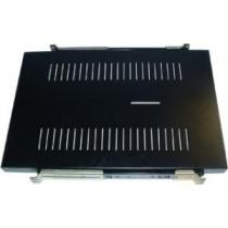 Nexxt 1U 4-Point Adjustable, Vented Sliding Utility Shelf