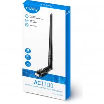 Cudy WU1400 AC1300 High-Gain USB WiFi Adapter